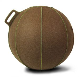 VLUV_Seating_Ball_Brown-melange-Green